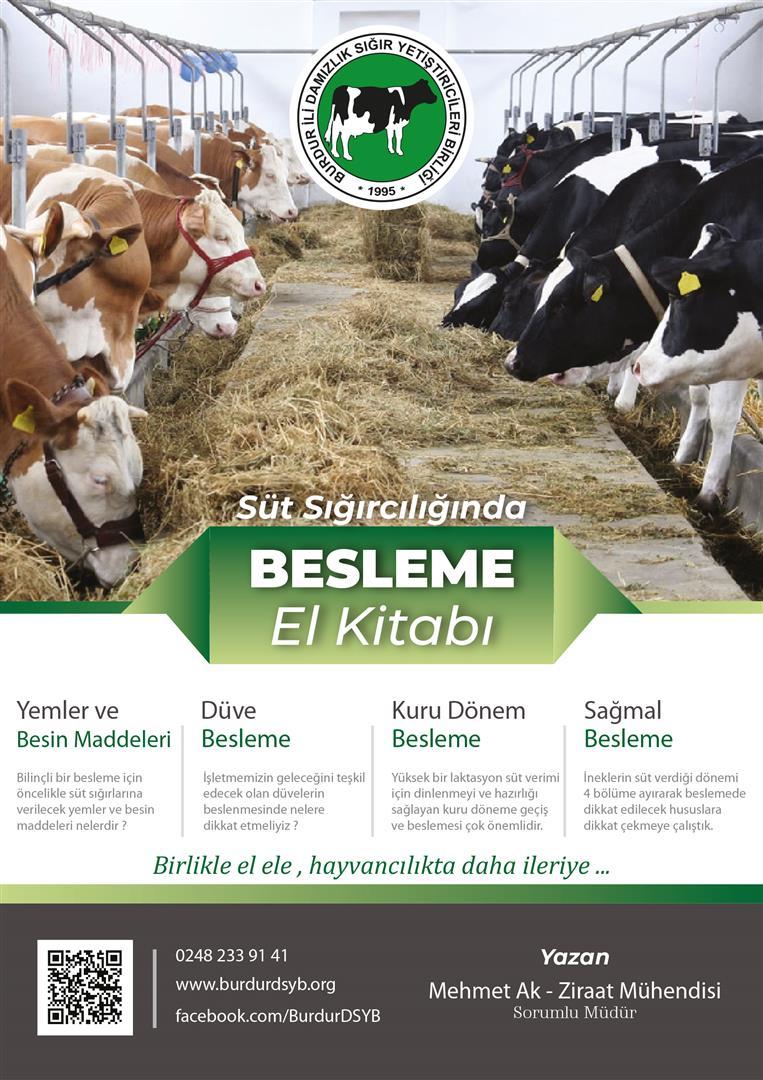 Süt Sığırcılığı Besleme El Kitabı